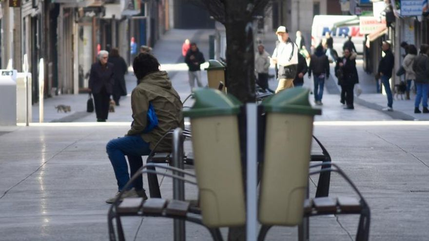 Multas en la calle Barcelona por saltarse el confinamiento