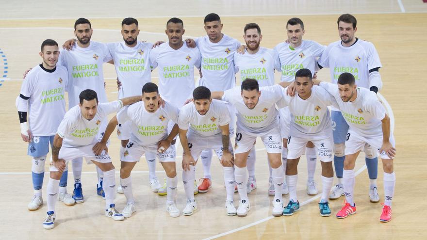 Dídac y los palos frenan al Palma Futsal