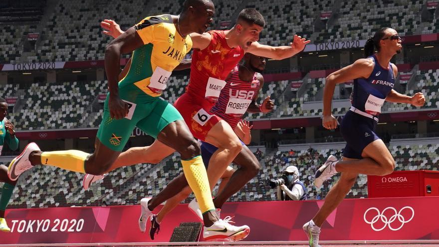 Asier Martínez se mete en la final de los 110 metros vallas en sus primeros Juegos