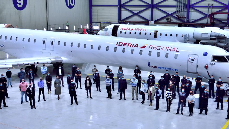 Air Nostrum recibe el premio europeo a la fiabilidad por tres de sus modelos