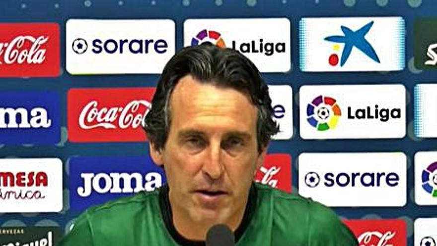 Emery: «El Elche compite muy bien en todos los momentos y es difícil marcarle»