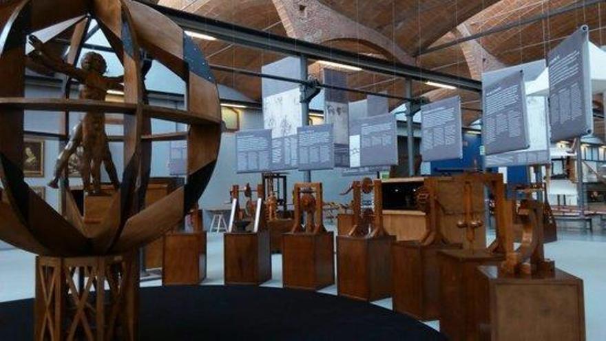 El geni de Leonardo da Vinci s'instal·la al Museu de la Ciència