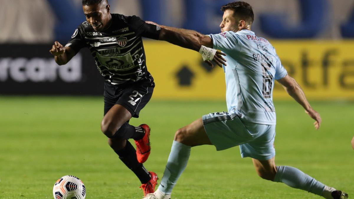 Granell va jugar tot el partit contra el Júnior de Barranquilla.