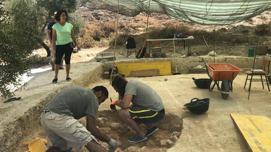 Descubierto un nuevo enterramiento en La Beleña
