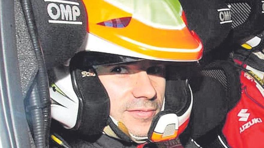 Pérez, único asturiano copiloto oficial de marca