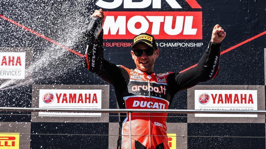 Álvaro Bautista volverá en 2022 a Ducati en el Mundial de Superbikes