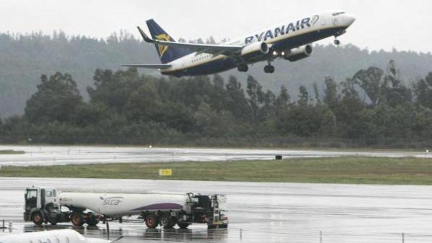 La indisposición de una pasajera obliga a volver a Lavacolla un vuelo de Ryanair