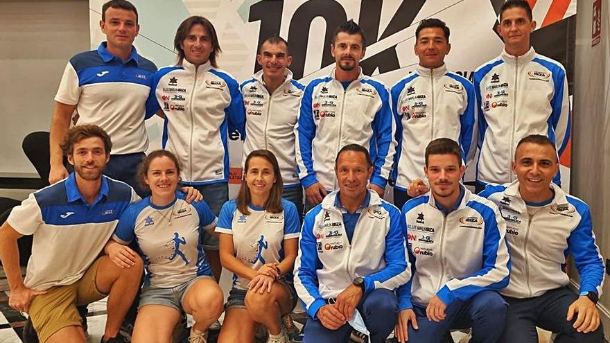 El Club Atletismo Ibiza brilla en la 10K de Valencia