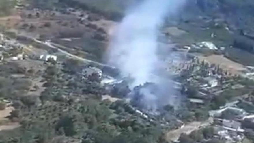 Extinguido el incendio forestal declarado en Alhaurín el Grande