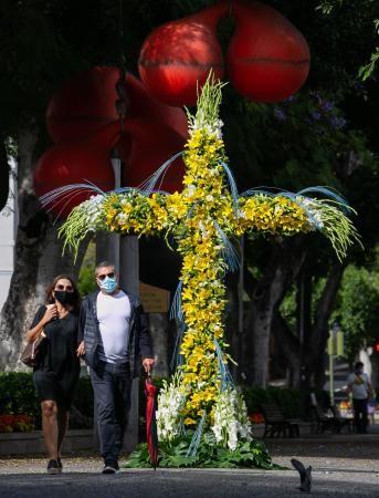 Previa de festividad de la Cruz en Santa Cruz de Tenerife