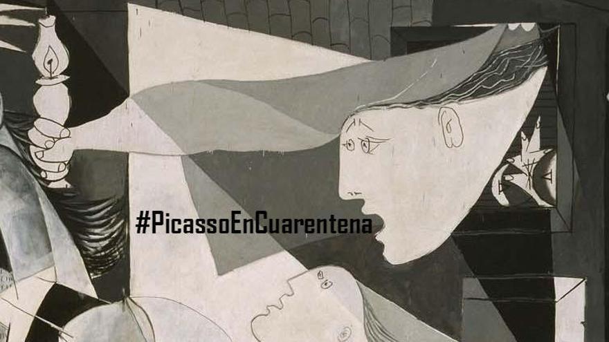 #PicassoEnCuarentena, prácticas de Historia del Arte a través de Twitter