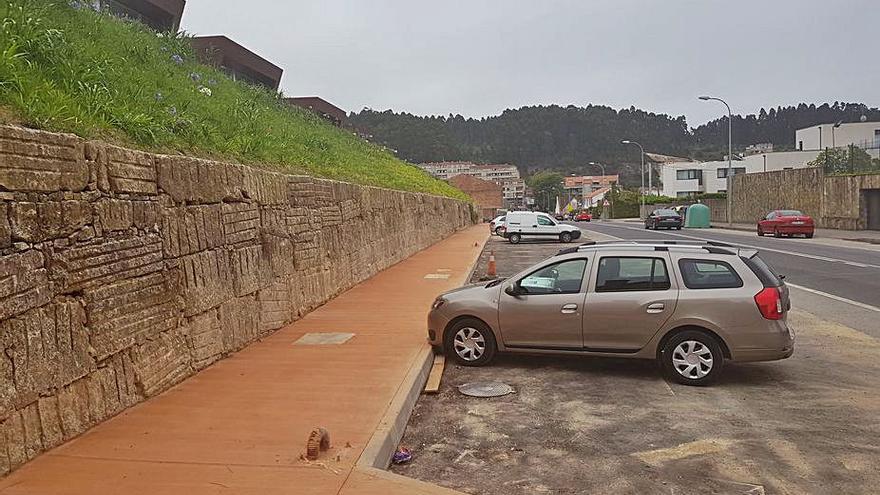 La ejecución de un nuevo complejo residencial en Areas permite mejorar la red viaria en su entorno