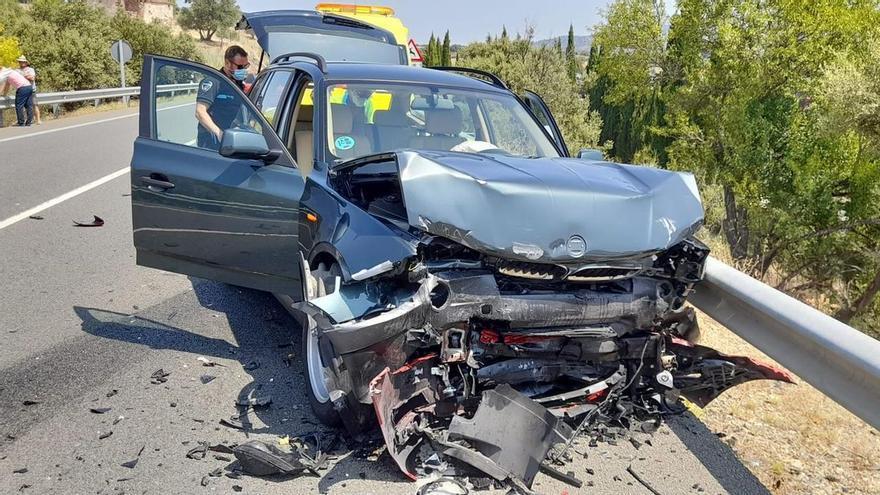 Fallece el hombre de 59 años involucrado en una colisión frontal en la circunvalación norte
