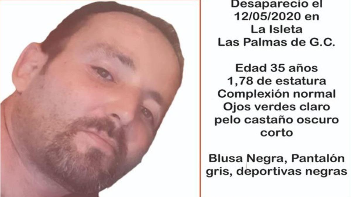 Desaparece un hombre en La Isleta