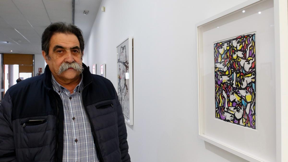 Xosé Vizoso expone en la sala Rivas Briones (Vilagarcía).