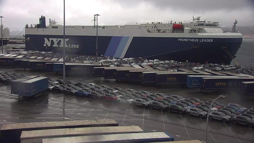 Descienden a once los hospitalizados por los positivos en los buques confinados en Vigo