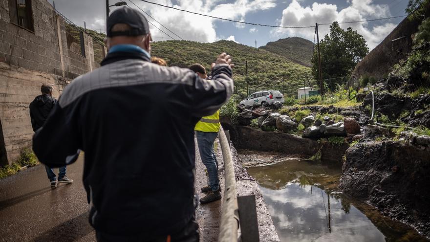 El alcalde exige al Cabildo que elimine el riesgo de desbordamiento en El Cercado