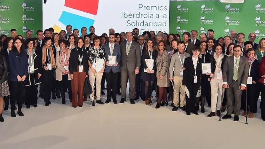 Ignacio Galán entrega los Premios Iberdrola a la Solidaridad