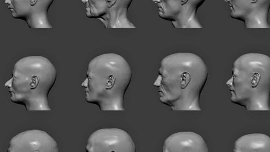 Así era el rostro de los primeros murcianos