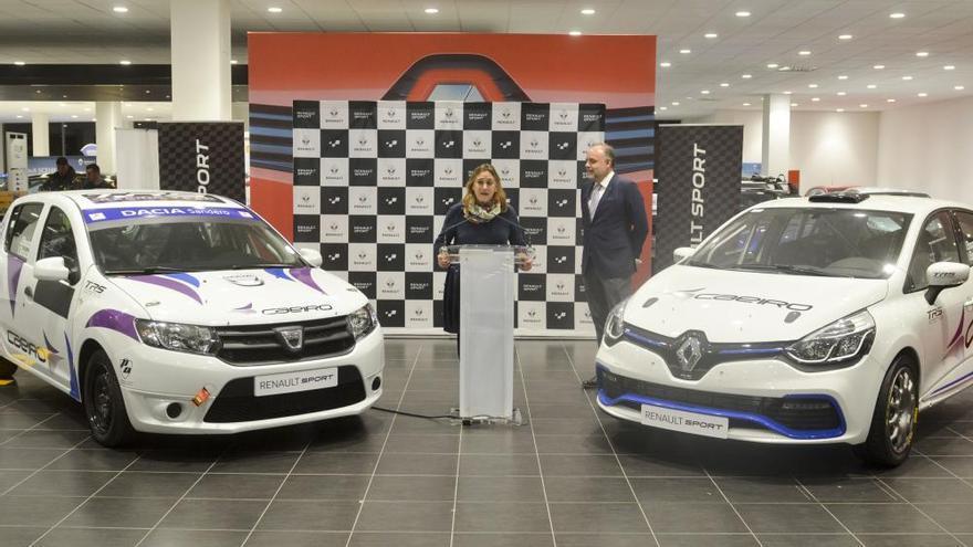 Renault Caeiro presentó ayer su programa Renault Sport