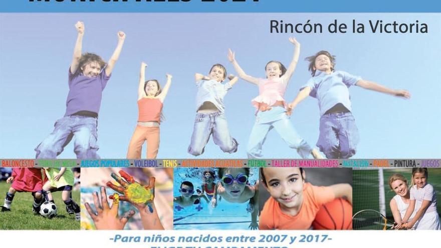 Rincón de la Victoria abre el plazo para los campamentos de verano