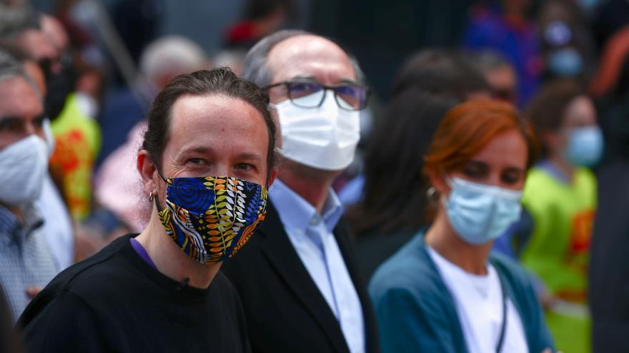 La izquierda se une en Madrid por el Día del Trabajador