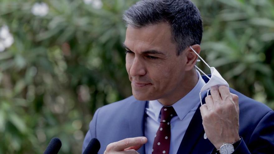 Premier Pedro Sánchez versprüht bei Mallorca-Besuch Optimismus