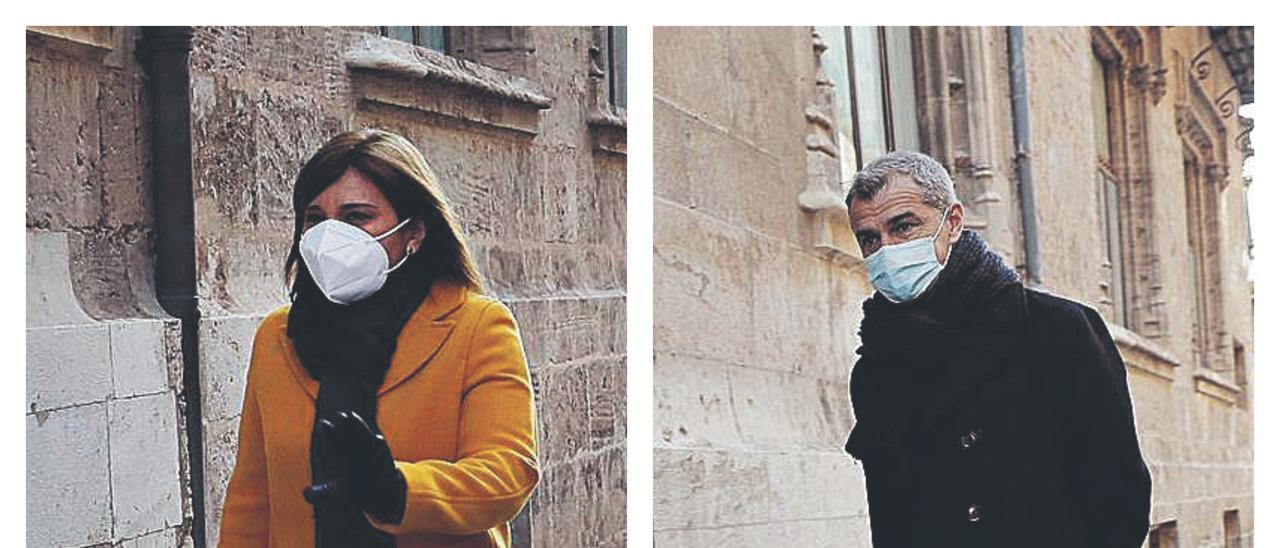 PP y Cs dan oxígeno a Puig al respaldar su posición contraria a confinar ahora