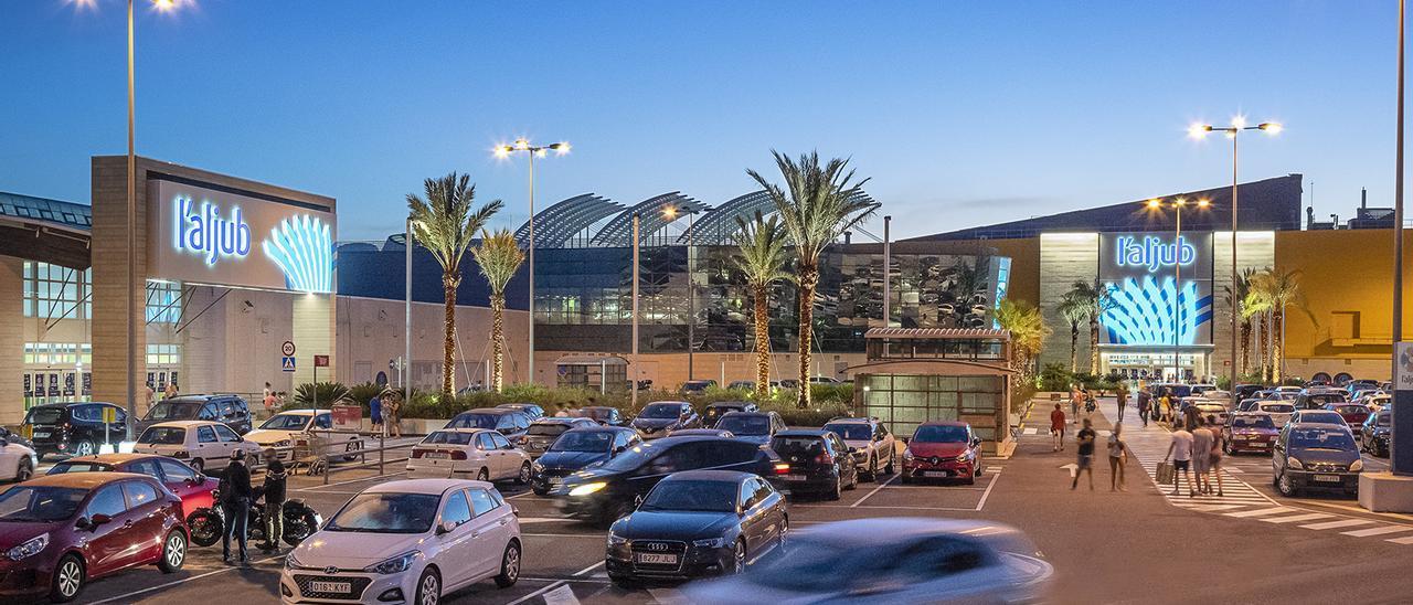 Imagen del centro comercial de Elche.