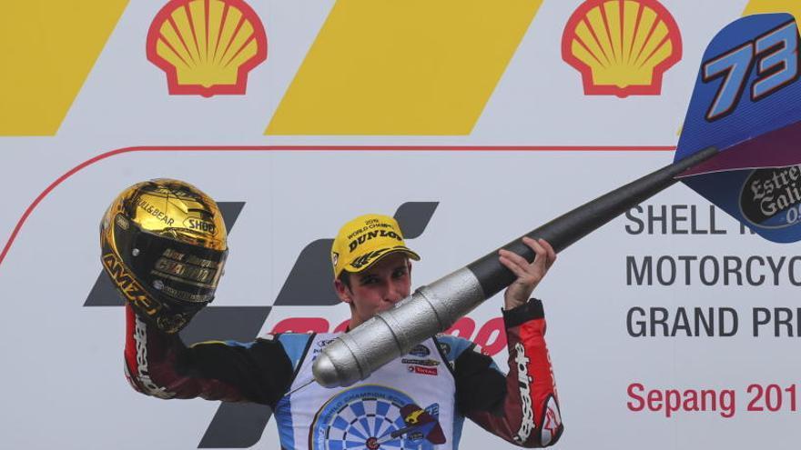 Alex Márquez, campió del món de Moto2