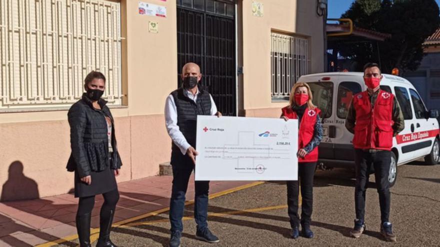 El colegio de La Vega de Benavente recauda 2.158,29 euros para La Palma