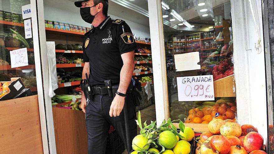 La Policía ha inspeccionado una veintena de fruterías sin rastro de mercancía robada