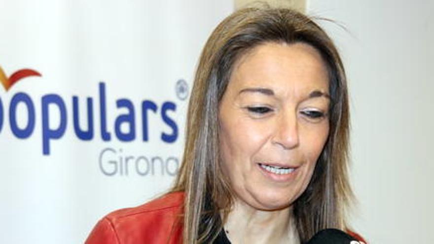 """La candidata del PP a l'alcaldia de Girona assegura que """"viu amenaçada"""""""