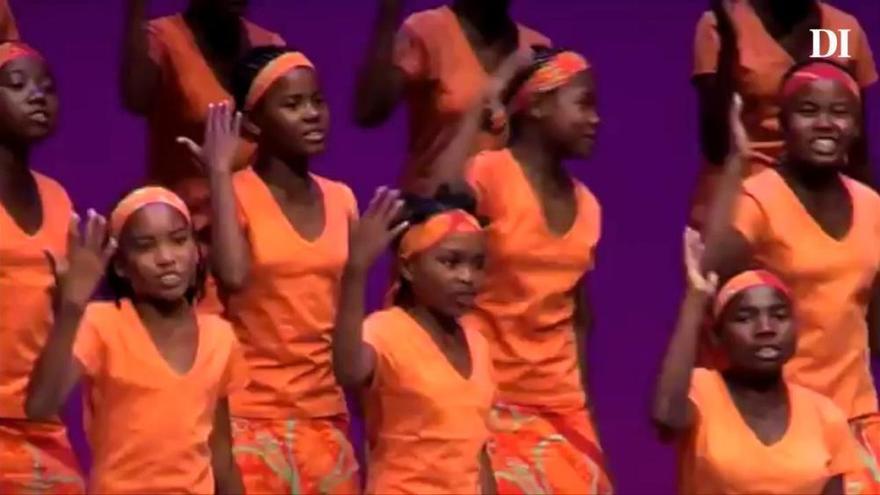 El coro infantil de Madagascar 'Malagasy Gospel'