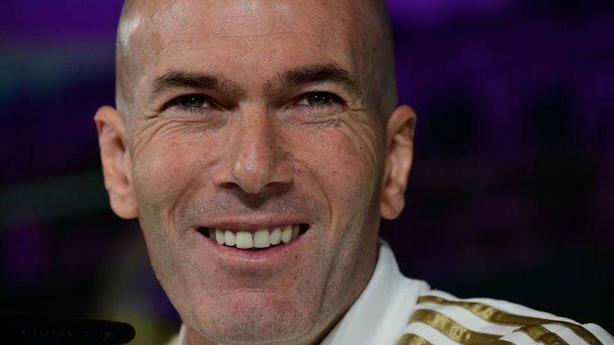 """Zidane: """"Vivimos para estos partidos"""""""