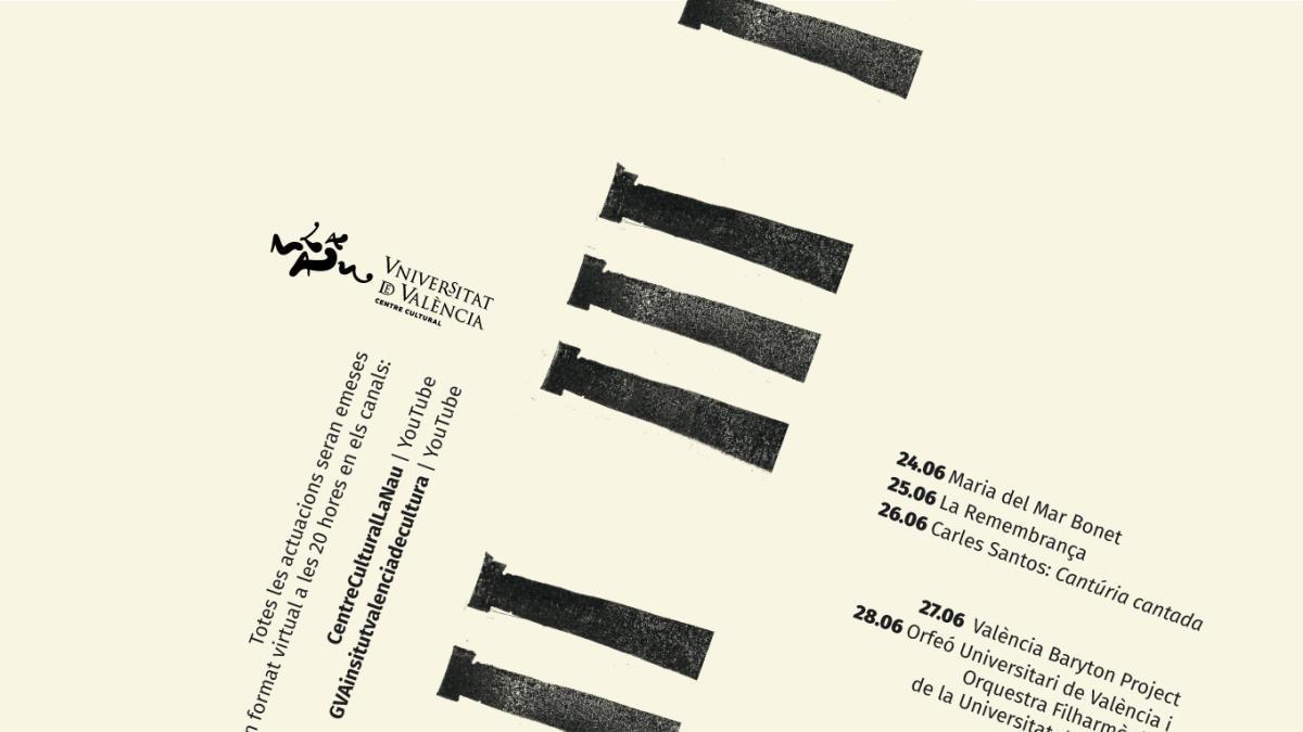 El festival 'Serenates 2020' se celebrará en formato digital