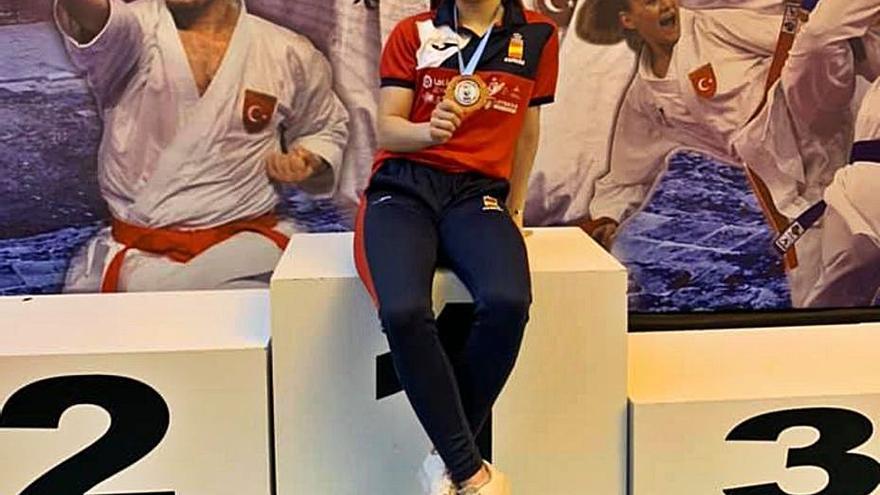 María Sanfrancisco se concentra con la selección española antes del Europeo