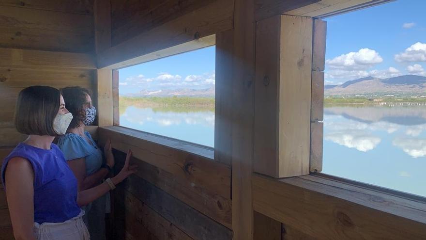 El Hondo estrena nuevo observatorio