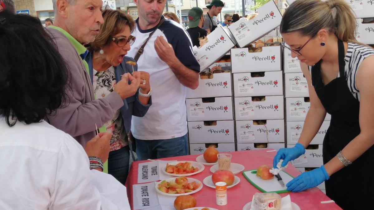 Feria del Tomate.