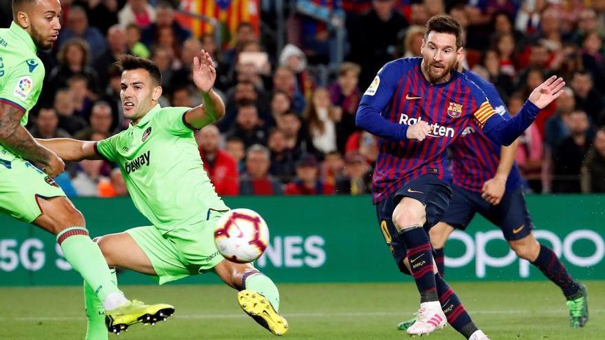 LaLiga Santander: El gol del Barcelona - Levante (1-0)