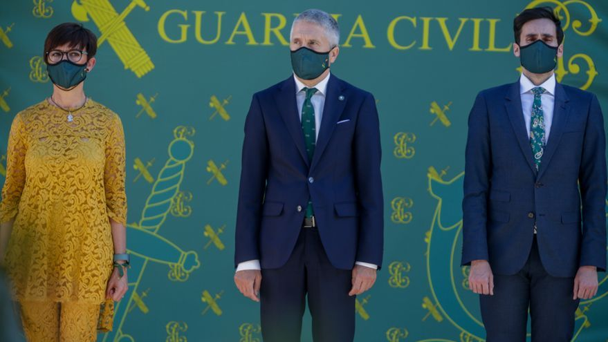 Marlaska, Iglesias y María Gámez han recibido cartas con cartuchos de bala