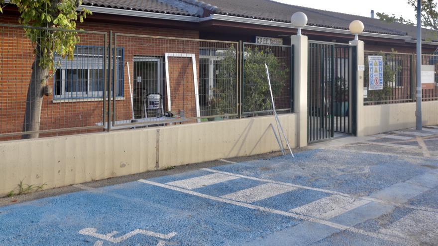 Las obras del Plan Edificant retrasan una semana el inicio del curso en un colegio de La Vila