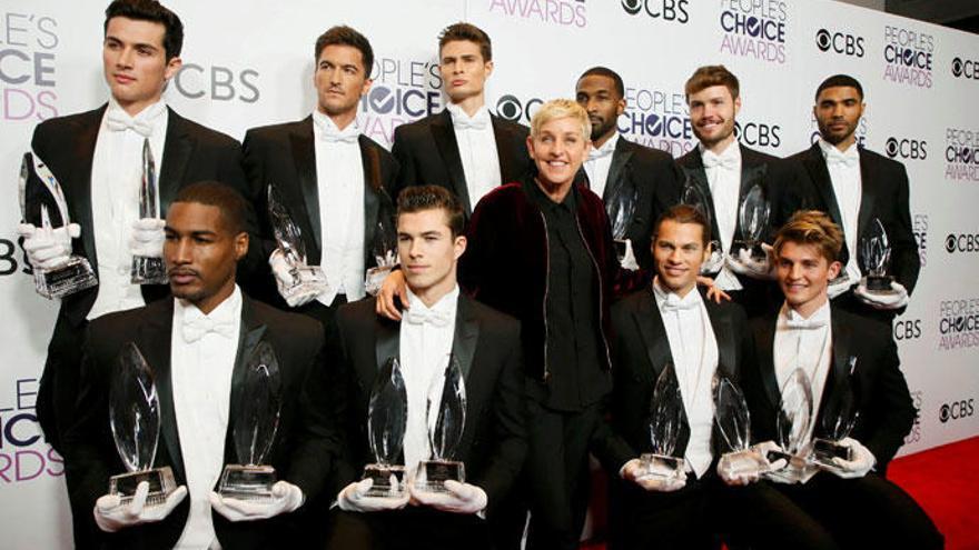 Ellen DeGeneres, la gran triunfadora de los People's Choice Awards