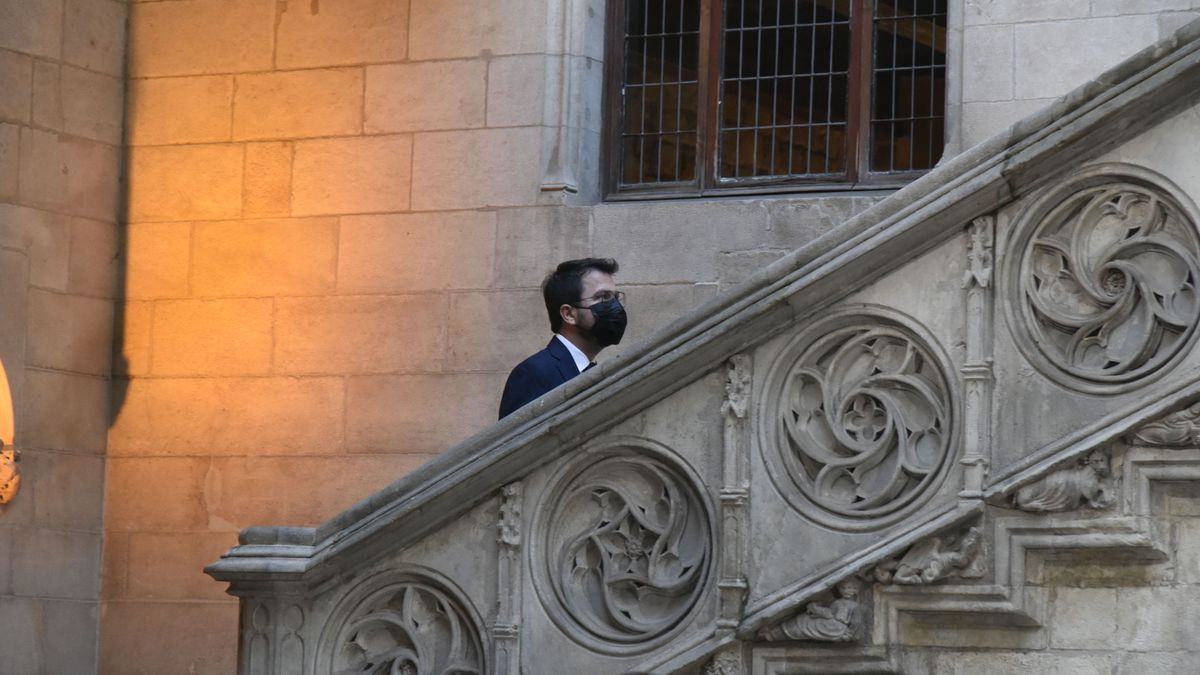 La presa de possessió de Pere Aragonès, en imatges