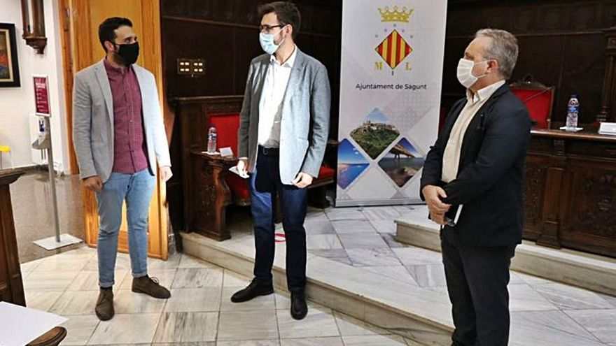 Sagunt reclama la ampliación de los servicios que prestan las oficinas PROP
