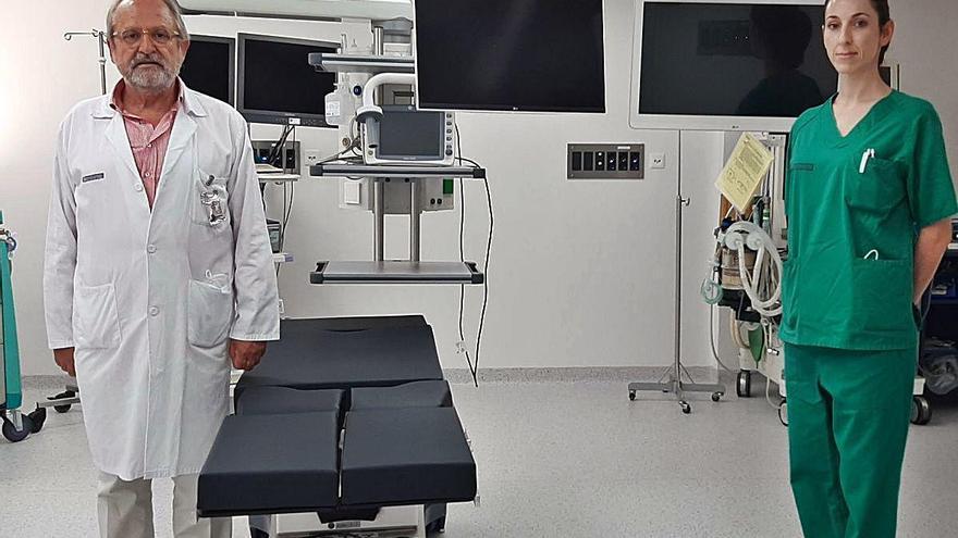 De mejoras en el Hospital General