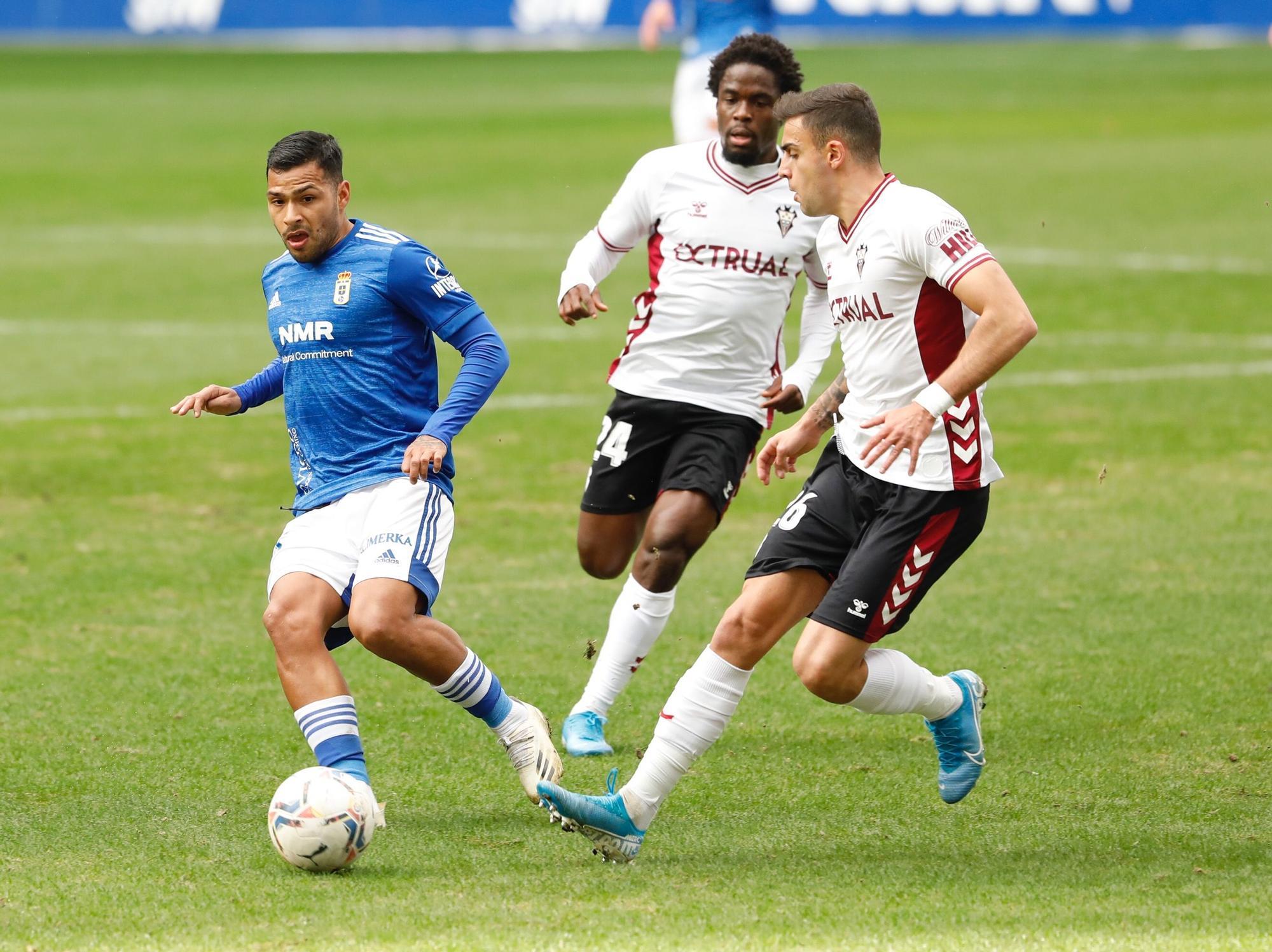 Real Oviedo - Albacete, en imágenes