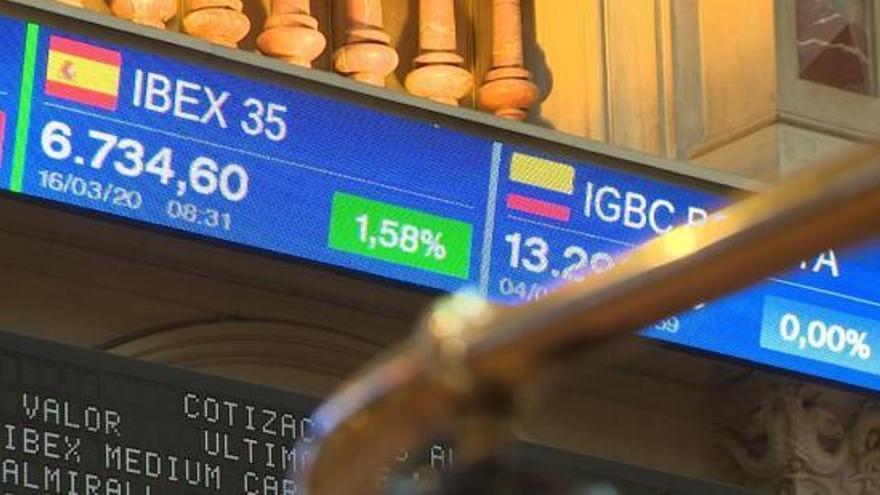 L'Ibex-35 obre amb una caiguda del 3,6% i amenaça amb nous mínims
