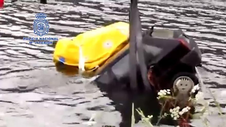 Recuperan en el embalse de Belesar el cadáver y el coche del desaparecido en Melide