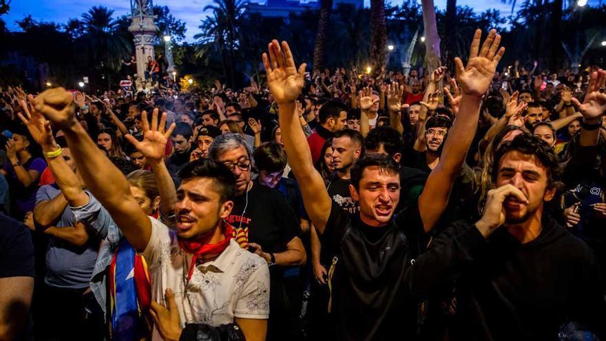 A juicio cuatro mossos por su actuación ante las protestas contra la sentencia del procés